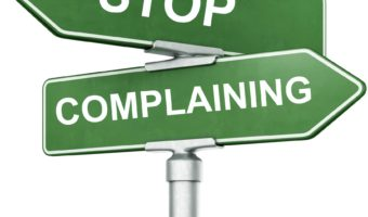 Eliminate Complaining in Two Easy Steps