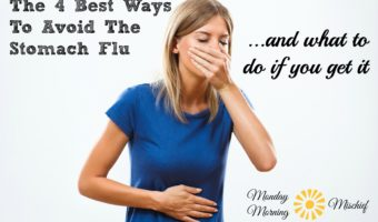 How To Avoid The Stomach Flu