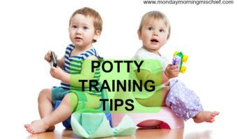 Potty Training: 5 Valuable Tips