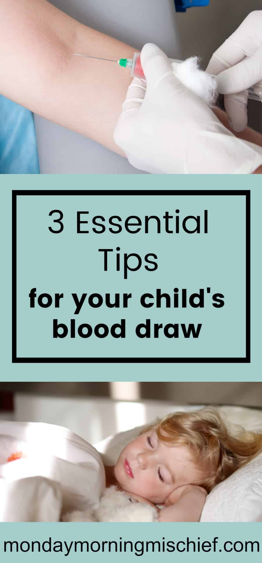 childs blood draw tips